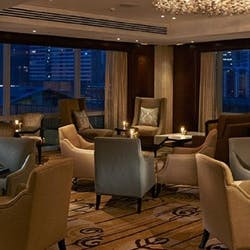 Fairmont lounge area at Fairmont and Raffles Makati, Manila