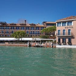 Exterior of Belmond Hotel Cipriani, Venice, Italy