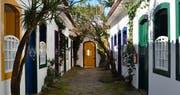 Exterior of Pousada do Ouro, Brazil