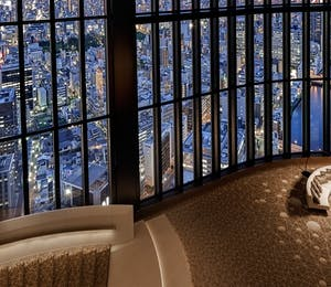 Atrium Lounge at Conrad Osaka, Japan