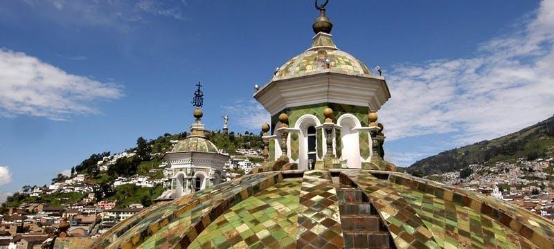 Beautiful exterior of Casa Gangotena