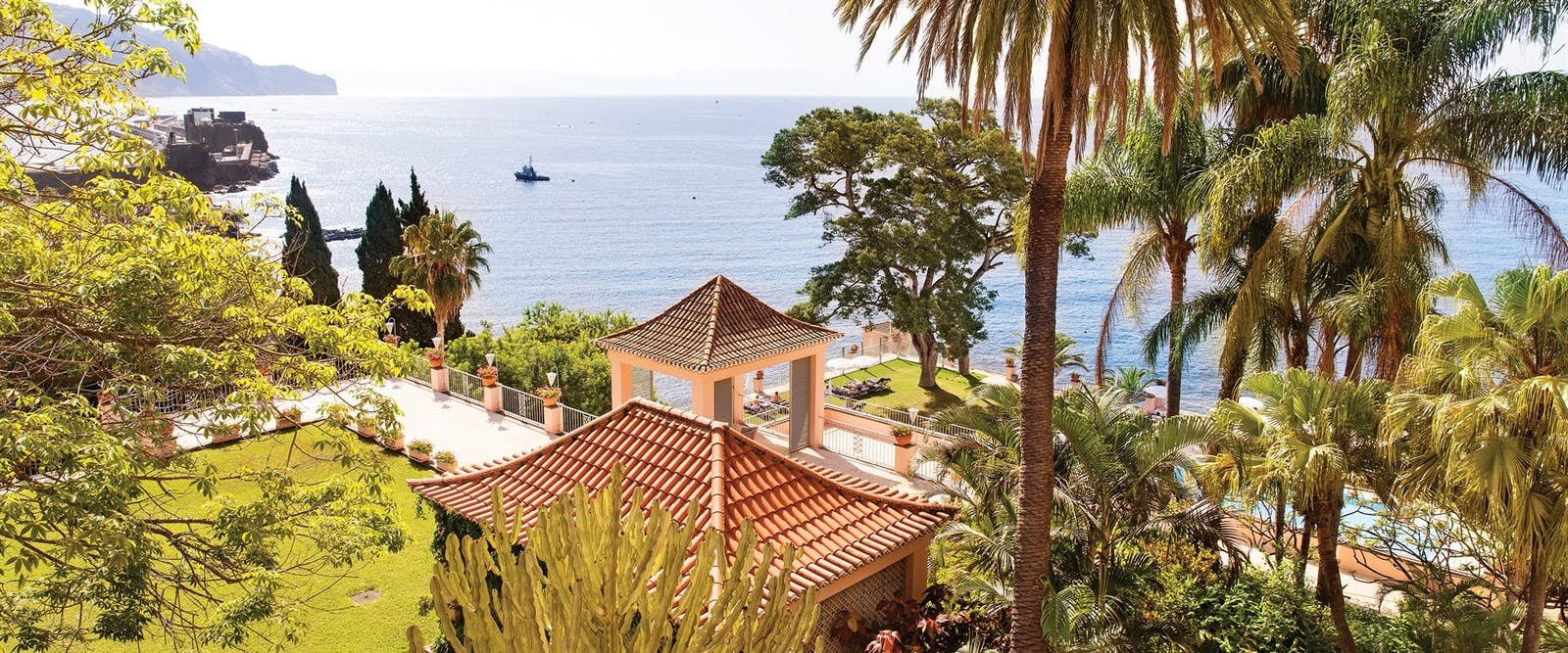 The View from Belmond Reids Palace, Madeira, Portugal