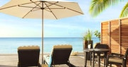 Guestroom terrace at The Fairmont Royal Pavilion, Barbados