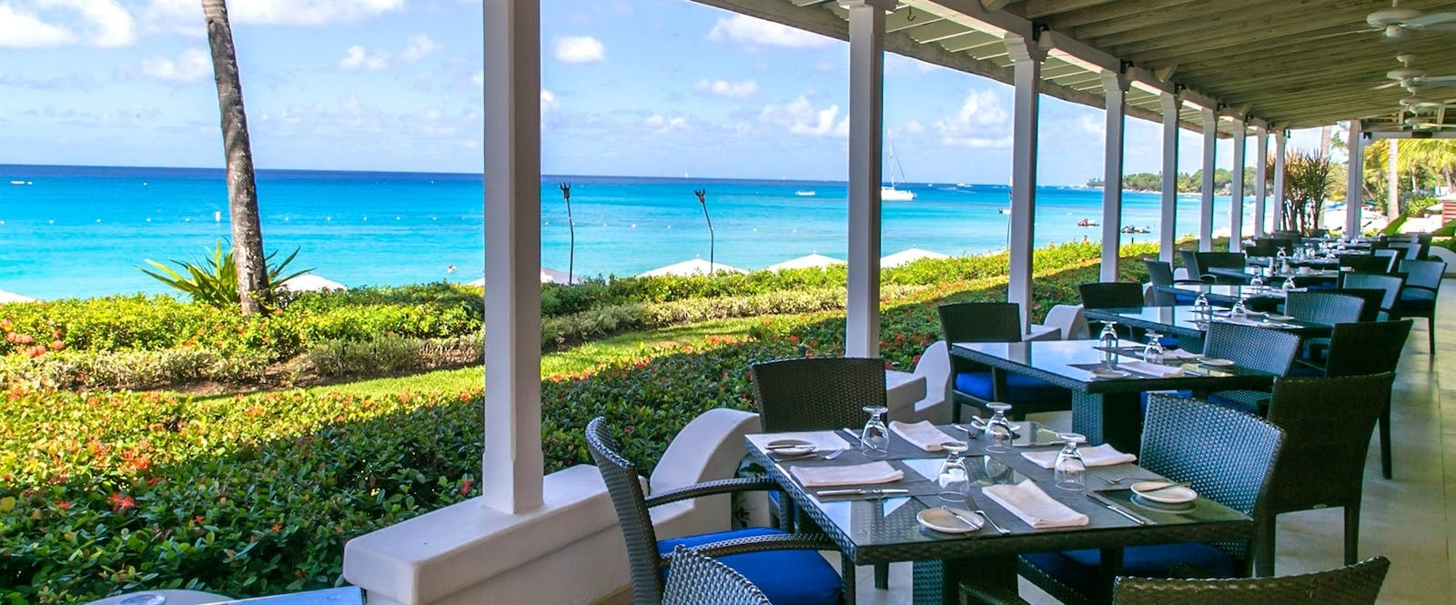 Taboras Restaurant at  Fairmont Royal Pavilion, Barbados