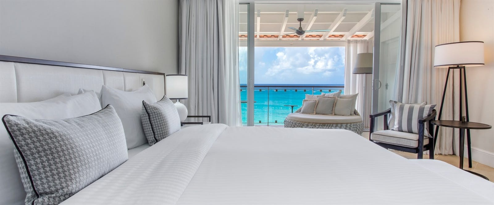 Signature Oceanfront Room at Fairmont Royal Pavilion, Barbados