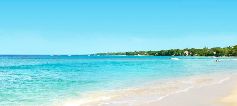 Beach at The Fairmont Royal Pavilion, Barbados