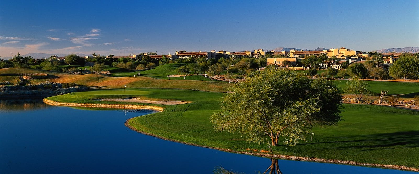 Golf Course At Fairmont Scottsdale, Arizona