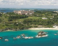 Aerial View of Fairmont Southampton, Bermuda