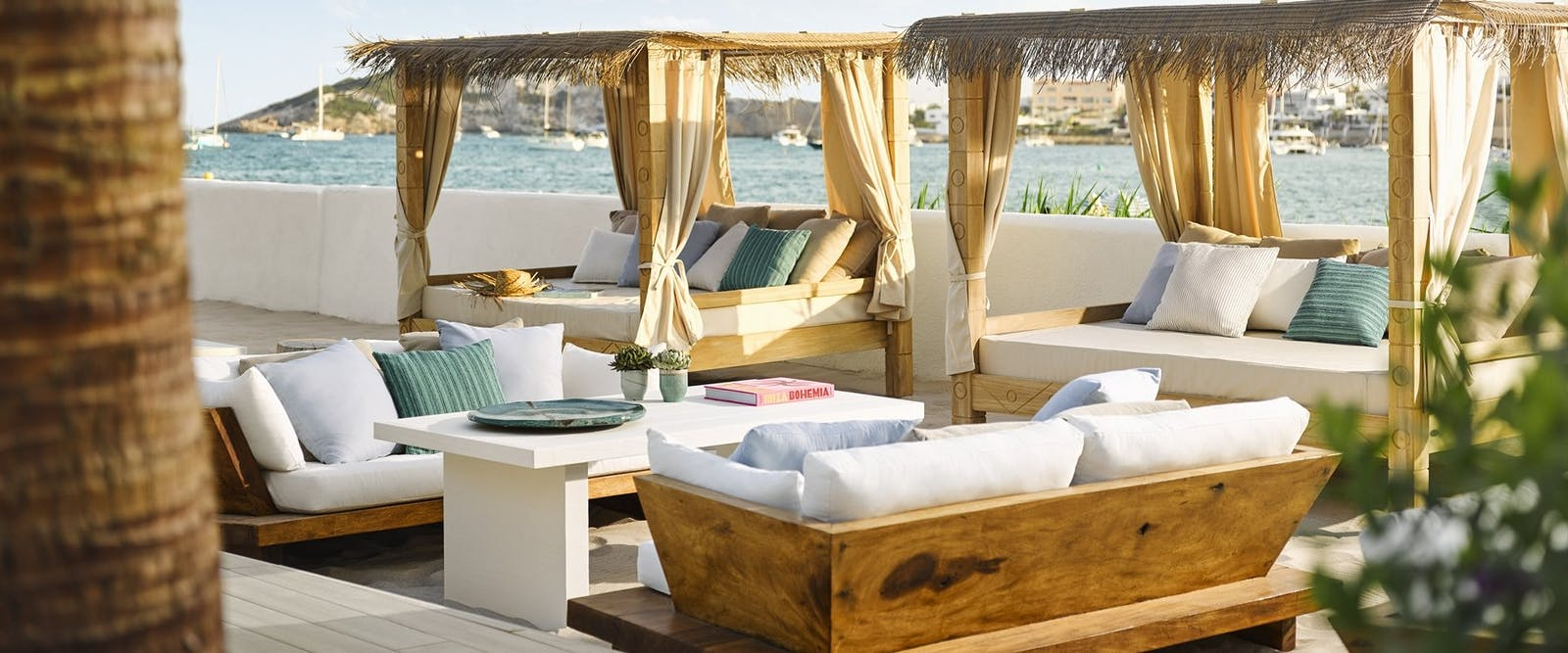 Family Pool Cabana at Nobu Hotel Ibiza Bay, Ibiza, Spain