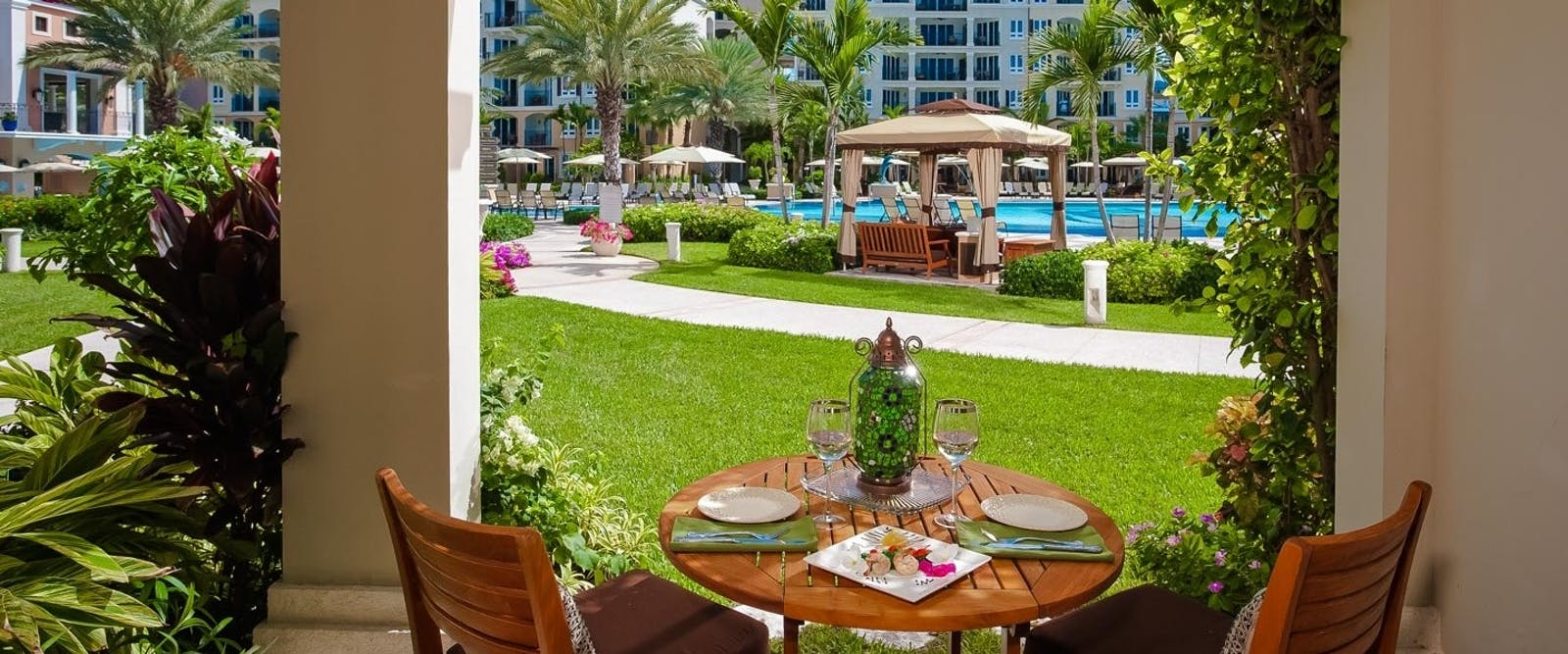 Italian Village Poolside Walkout Suite at Beaches Turks & Caicos Resort Villages & Spa