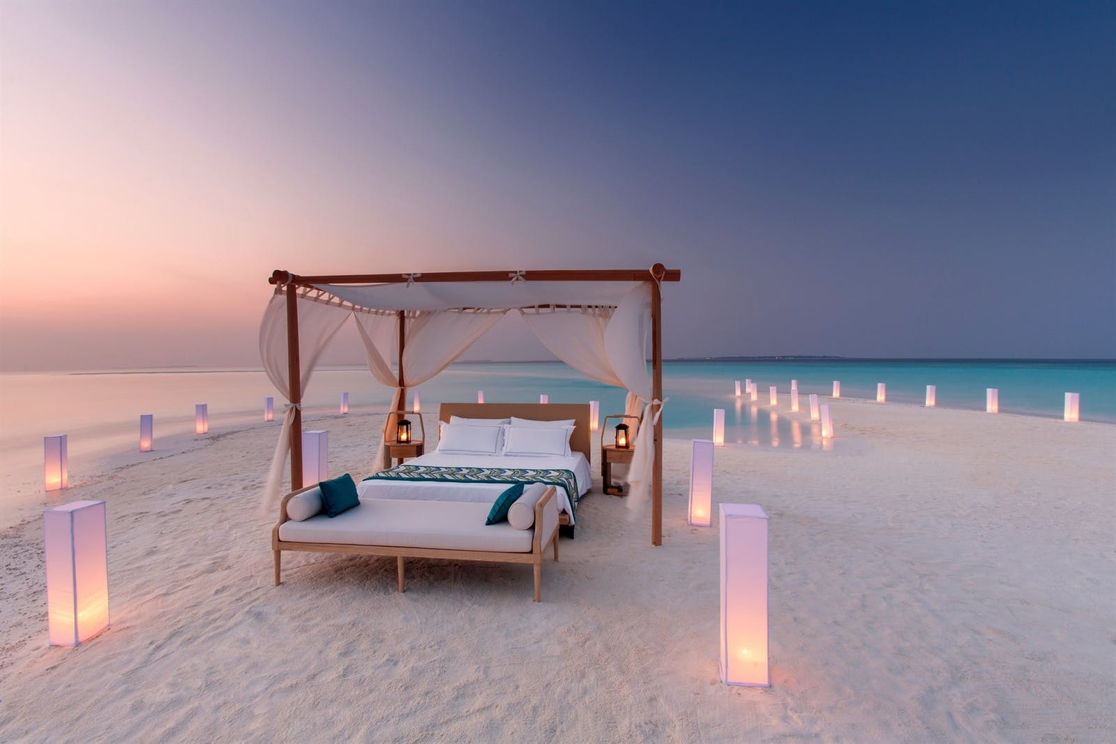 Sleep under the stars at Milaidhoo, Maldives