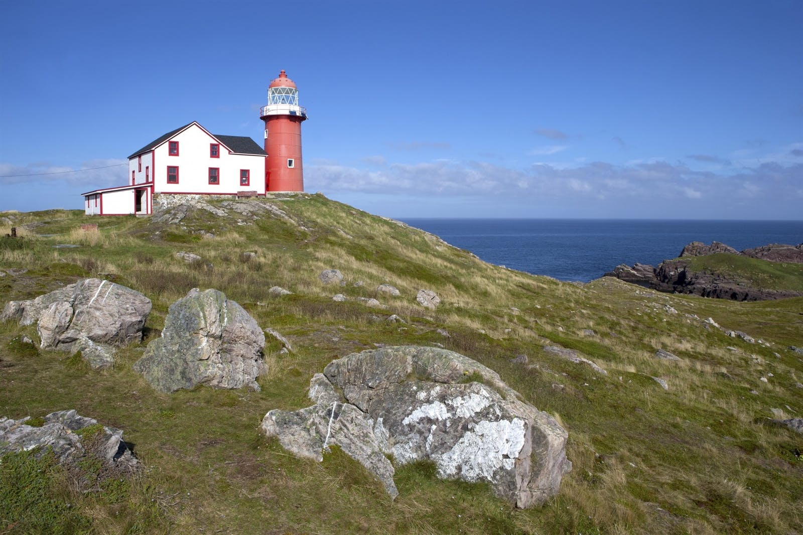 Ferryland lighthouse on Avalon Peninsula