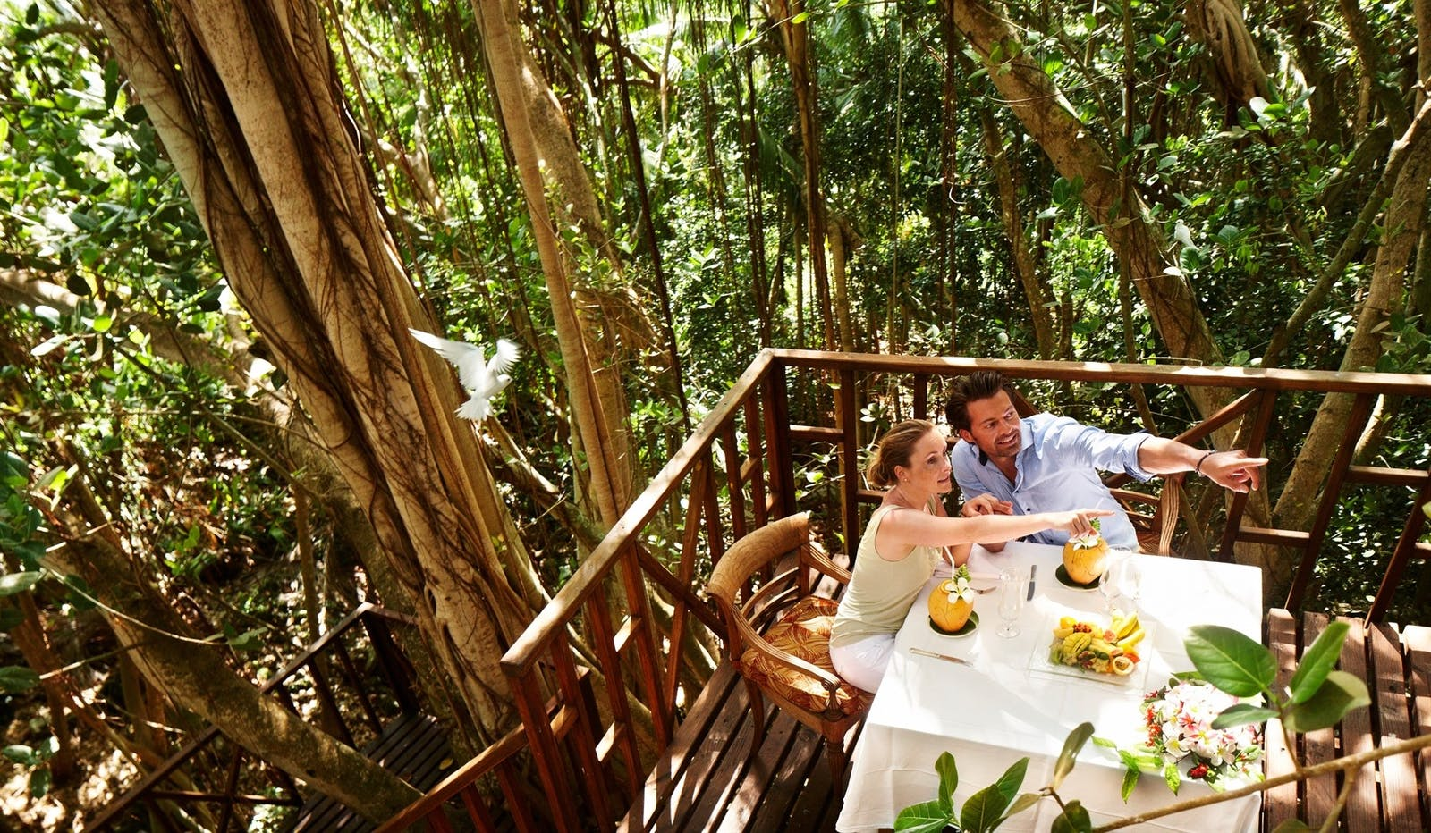 Banyan Tree Dining, Fregate Island Private, Seychelles