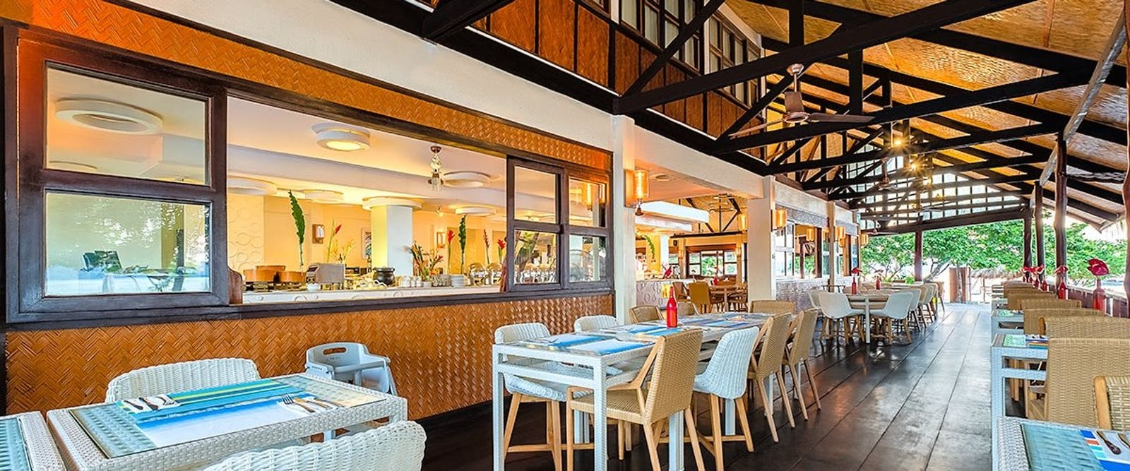 Firefish restaurant at Club Paradise Coron, Palawan