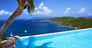 Falcon's nest pool view at Peter Island Villa Estates, British Virgin Islands