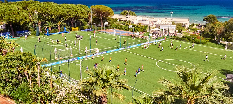 Football Pitch at Villa Del Parco Forte Village