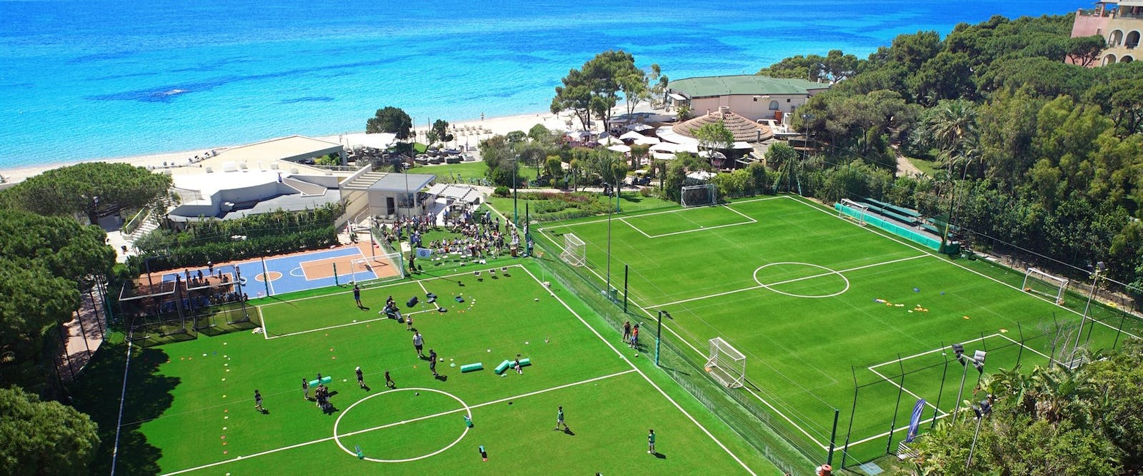 Forte Bay Sports Area at Forte Village Resort, South Sardinia, Italy
