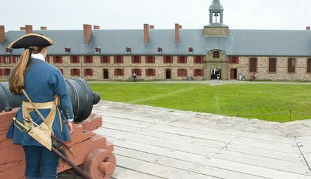 fortress of louisburg national historic site, Canada