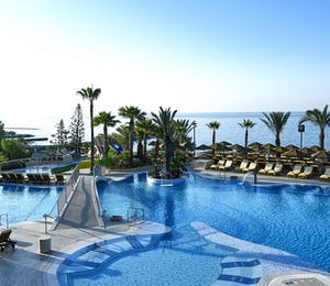 adults pool at four seasons hotel cyprus