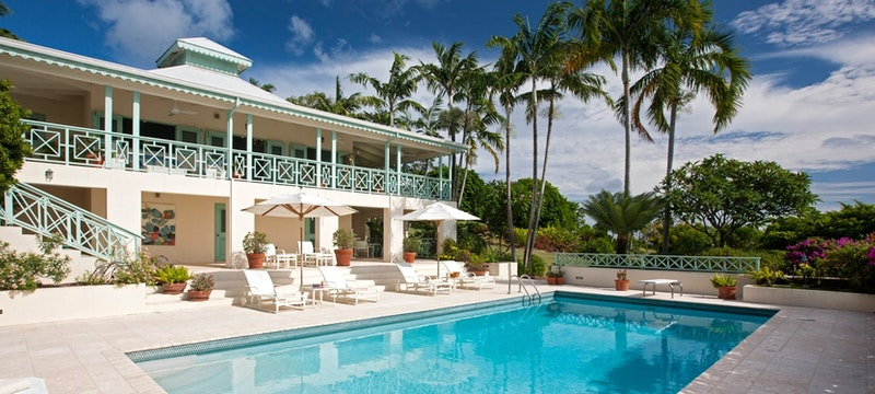 Five bedroom mahogany hill residence villa with pool at Four Seasons Resort Nevis