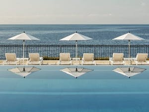 Infinity pool at Grand-Hotel du Cap-Ferrat, A Four Seasons Hotel