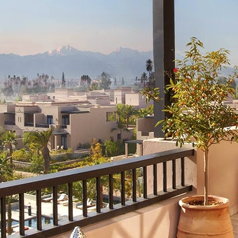 Presidential Suite view at Four Seasons Resort Marrakech
