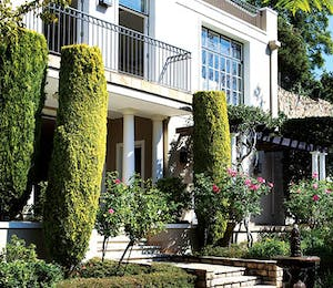 Garden at Four Seasons Hotel The Westcliff Johannesburg