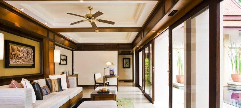 Spacious accommodation at Banyan Tree Phuket, Thailand