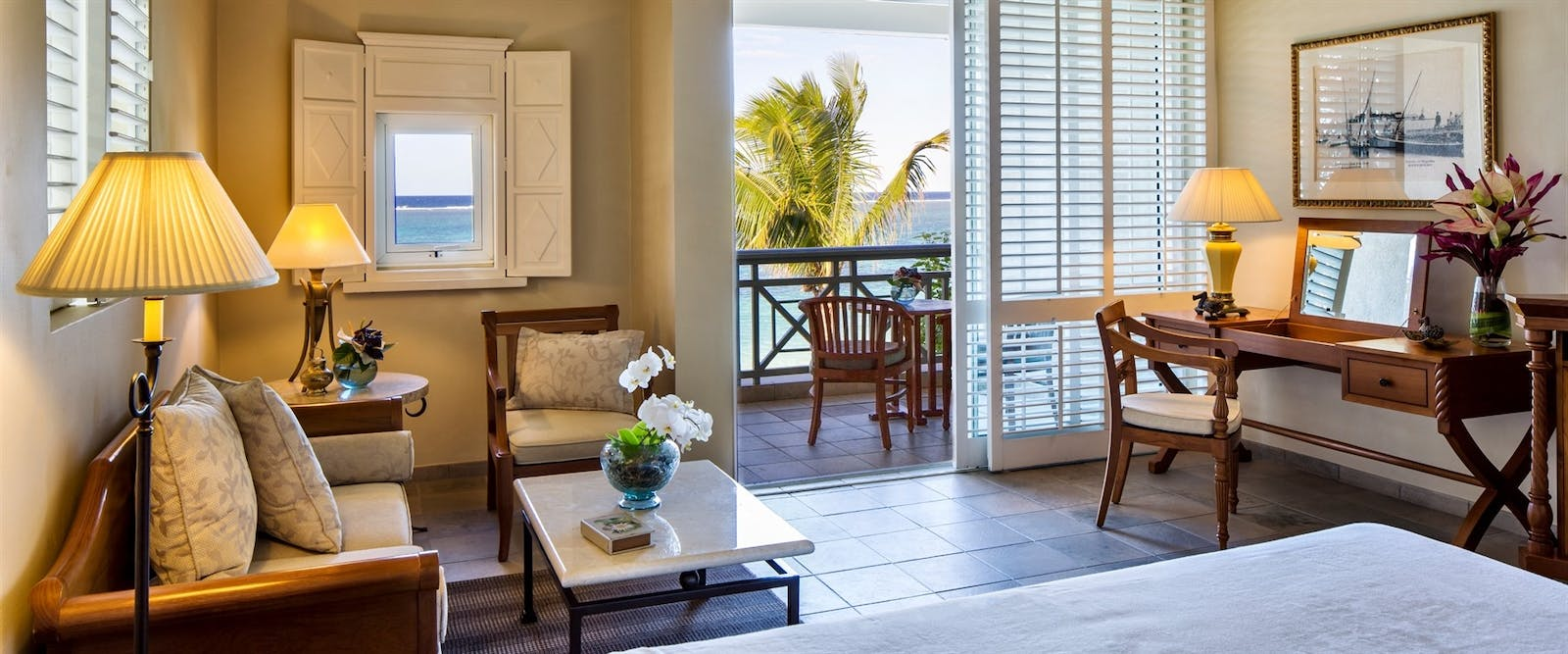 Colonial Ocean Front Room at The Residence Mauritius, Indian Ocean