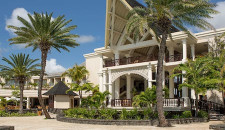 Exterior of The Residence Mauritius, Indian Ocean