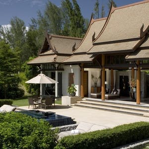 Overview of DoublePool Villas by Banyan Tree, Phuket, Thailand
