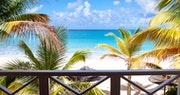 Premium Beachfront Suite balcony at Galley Bay Resort & Spa, Antigua