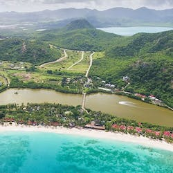 Aerial View of Galley Bay Resort & Spa, Antigua
