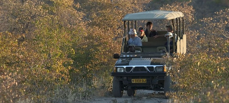 Game drive at Little Ongava Lodge