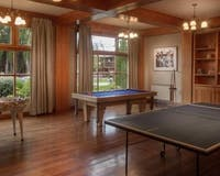 Games room at Kosten Aike, Patagonia
