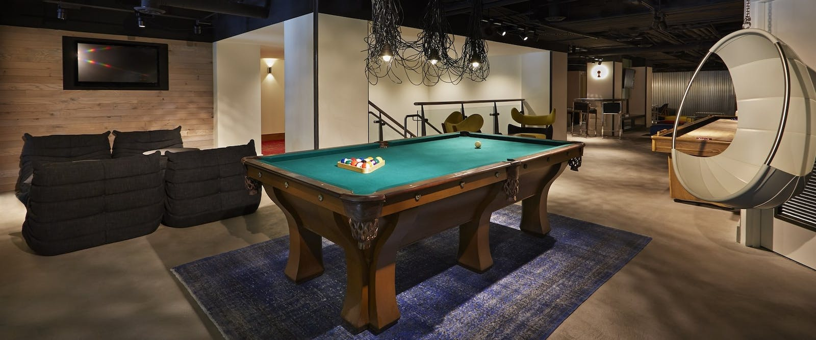 Games Room at Hotel Zetta, San Francisco, California