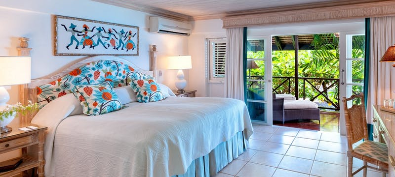 Garden room at The Sand Piper, Barbados