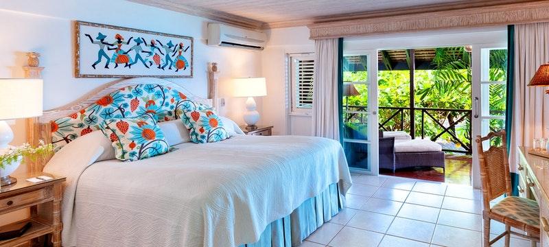 Garden room at The Sand Piper, Barbados