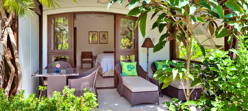 Exterior of a garden room at The Sand Piper, Barbados