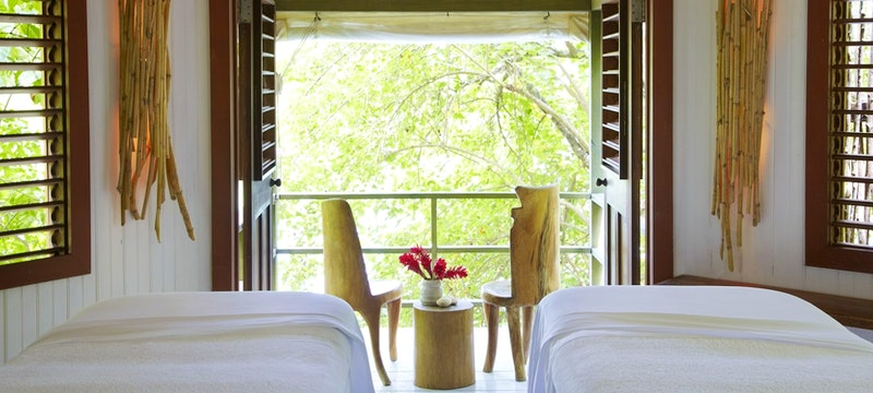 Indulge in a relaxing spa treatment at GoldenEye, Jamaica