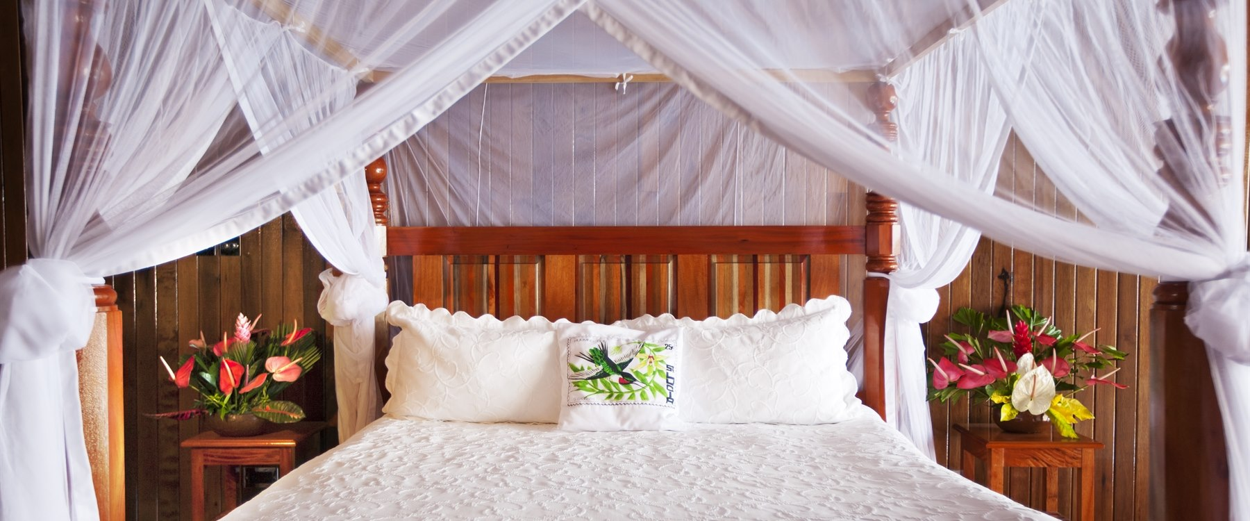 Suite Bedroom at Ladera, St Lucia