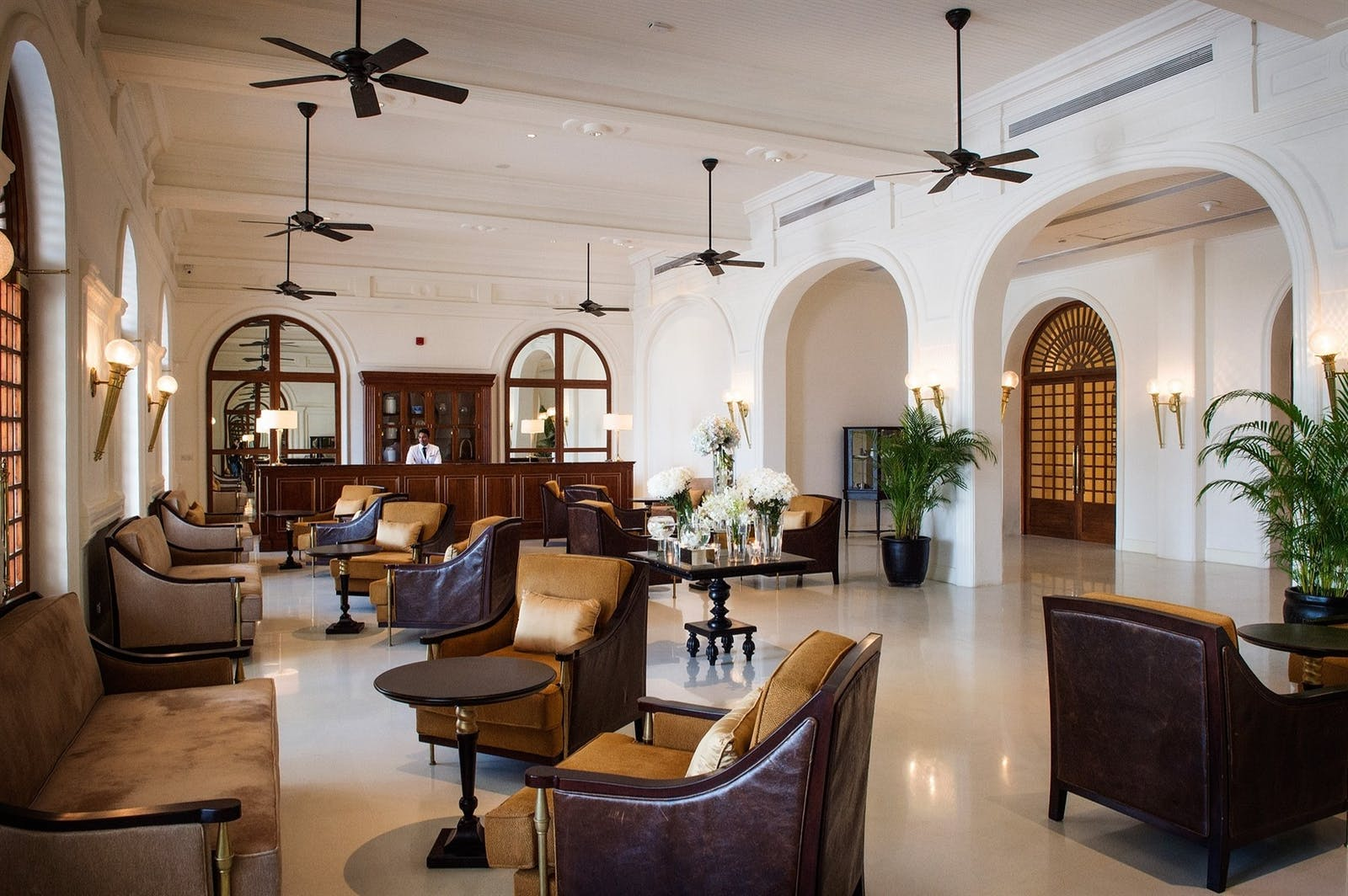 Palm Lounge, Galle Face Hotel, Colombo, Sri Lanka
