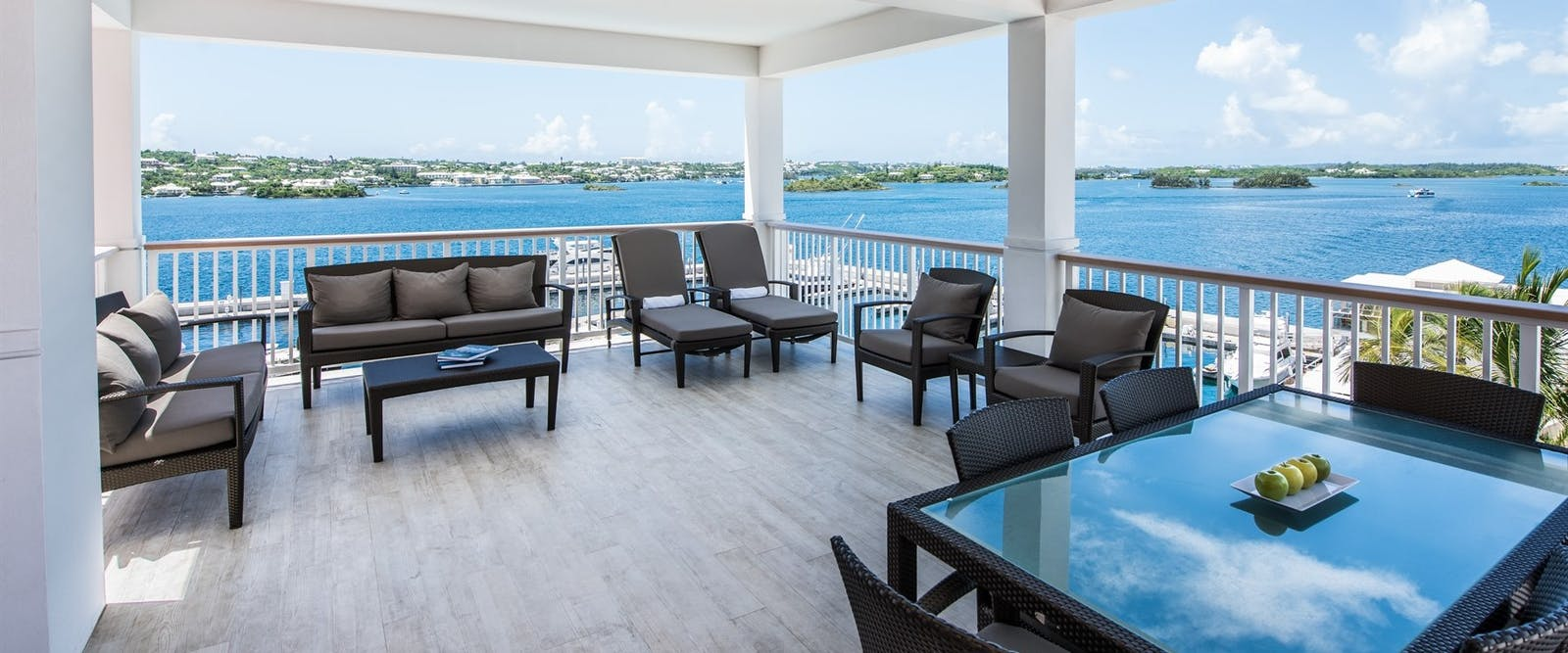 Balcony in Gold Suite at Hamilton Princess & Beach Club, Bermuda