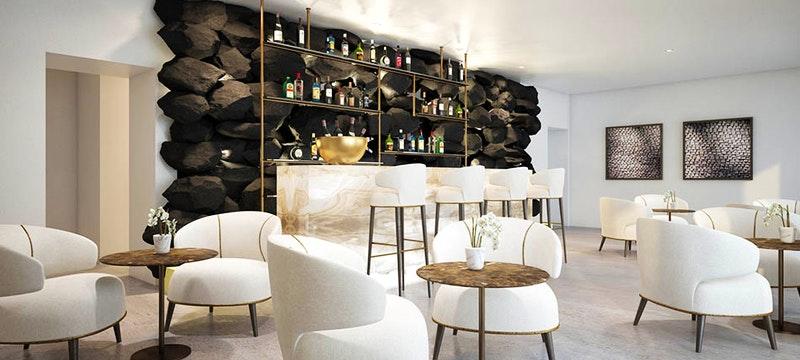 Bar Area at Grace Santorini