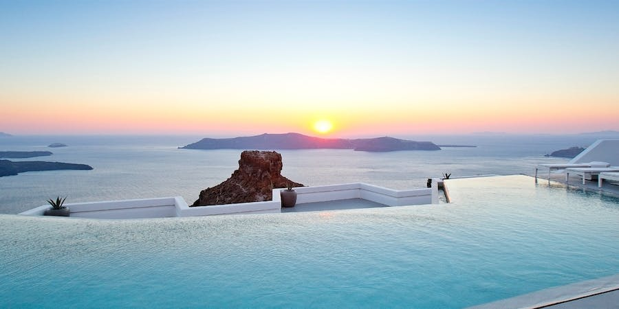 Infinity Pool, Grace Santorini, Auberge Resorts Collection, Santorini, Greece