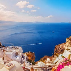 luxury holidays to santorini greece