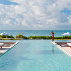 Pool and Sea View at Grace Bay Club, Turks And Caicos