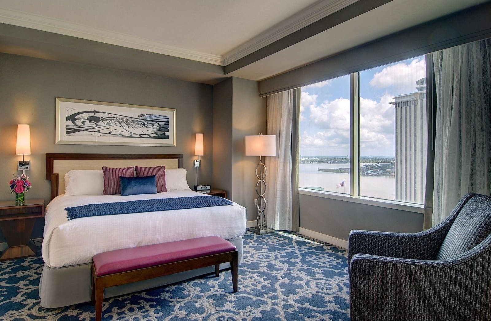 Grand King Suite at Loews, New Orleans