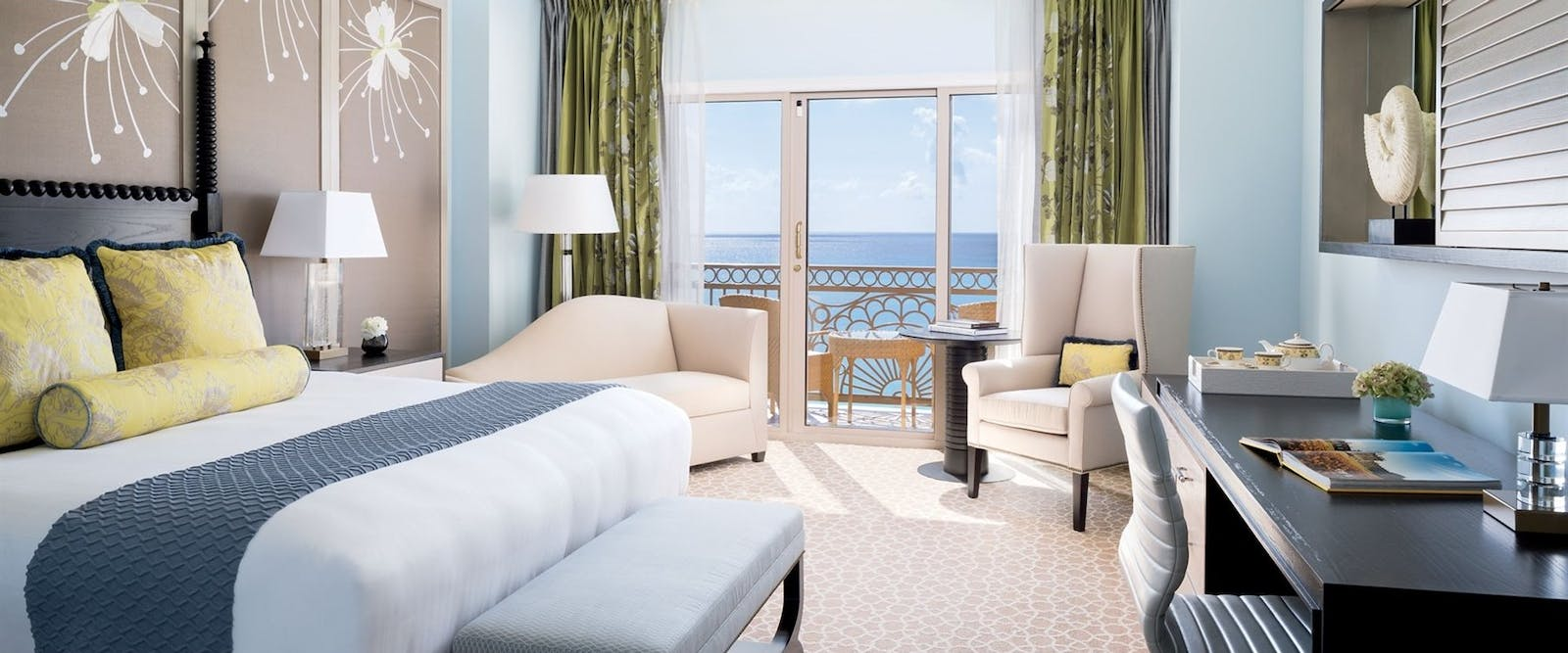 Ocean Front Guest Room at The Ritz-Carlton, Grand Cayman, Cayman Islands