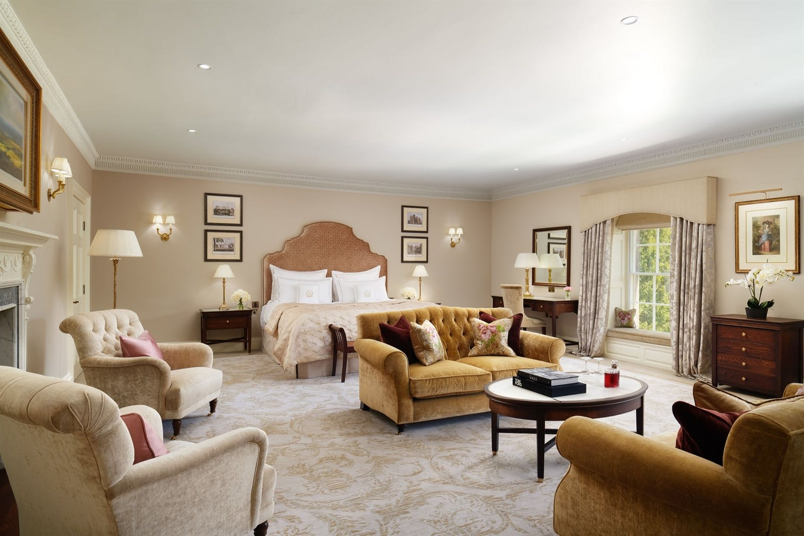 Grand Suite at Grantley Hall Ripon, Yorkshire, England